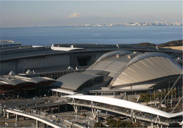 日本千叶县幕张国际会展中心Makuhari Messe - Nippon Convention Center