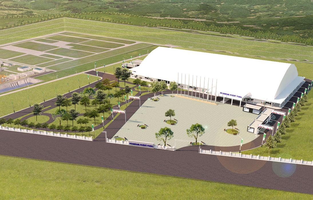 缅甸仰光会展中心Myanmar Event Park