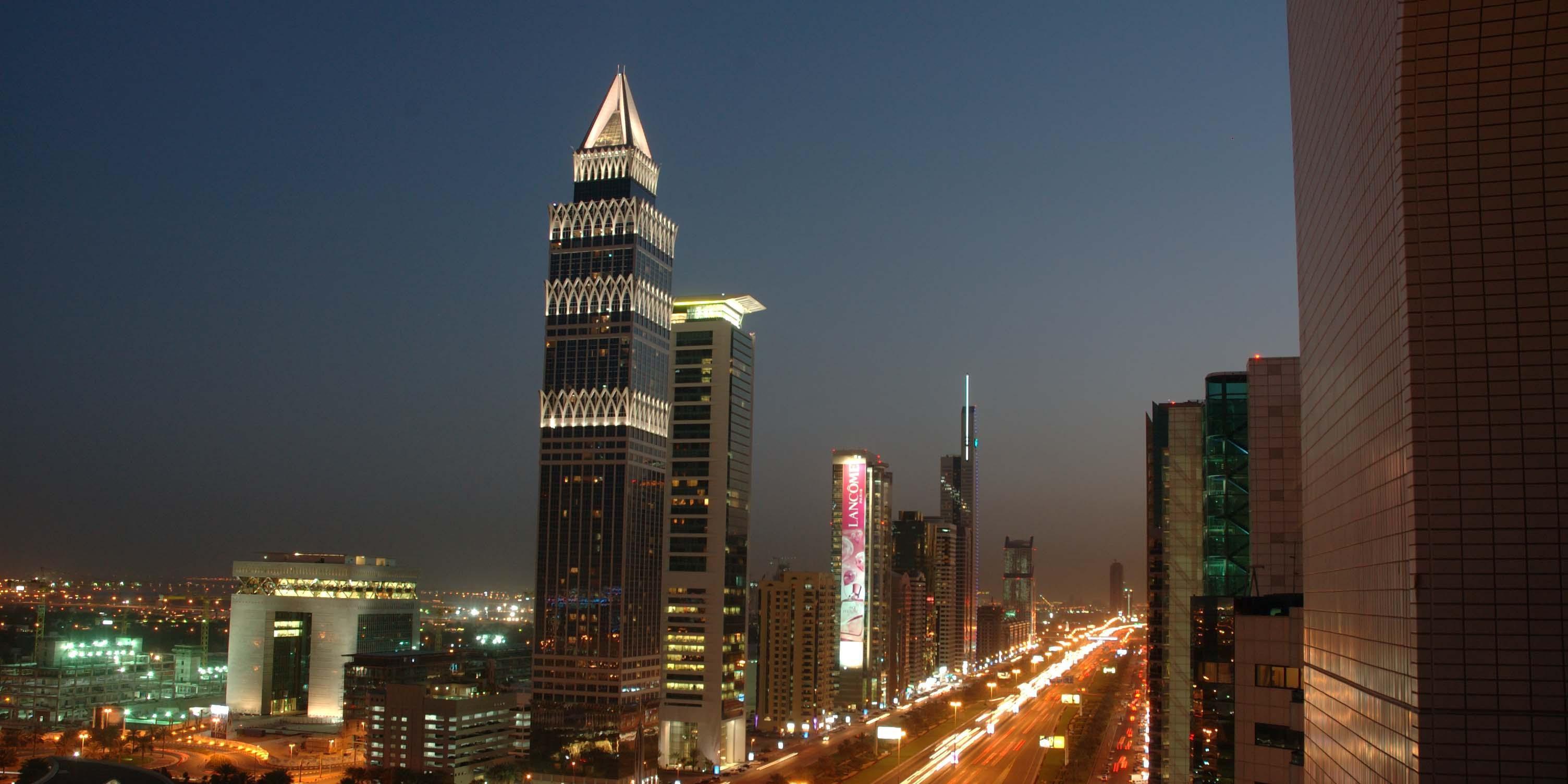 阿联酋迪拜皇冠假日酒店Crowne Plaza Hotel