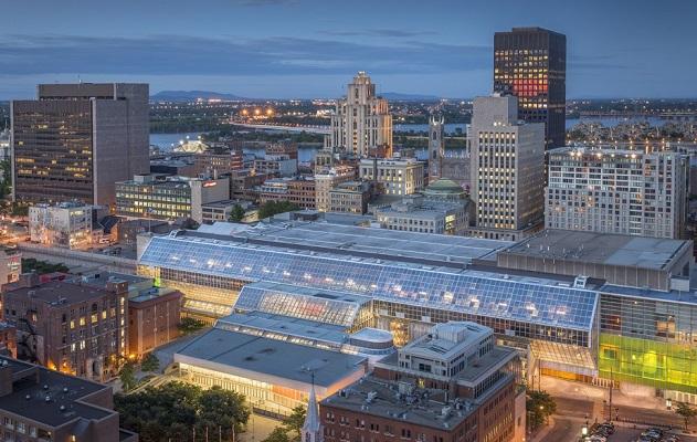 加拿大蒙特利尔会展中心Palais des Congrès de Montréal
