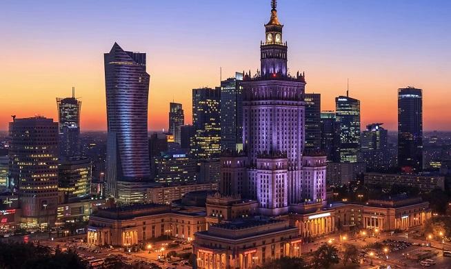 波兰华沙文化科学宫Palak Kulturyi Nauki