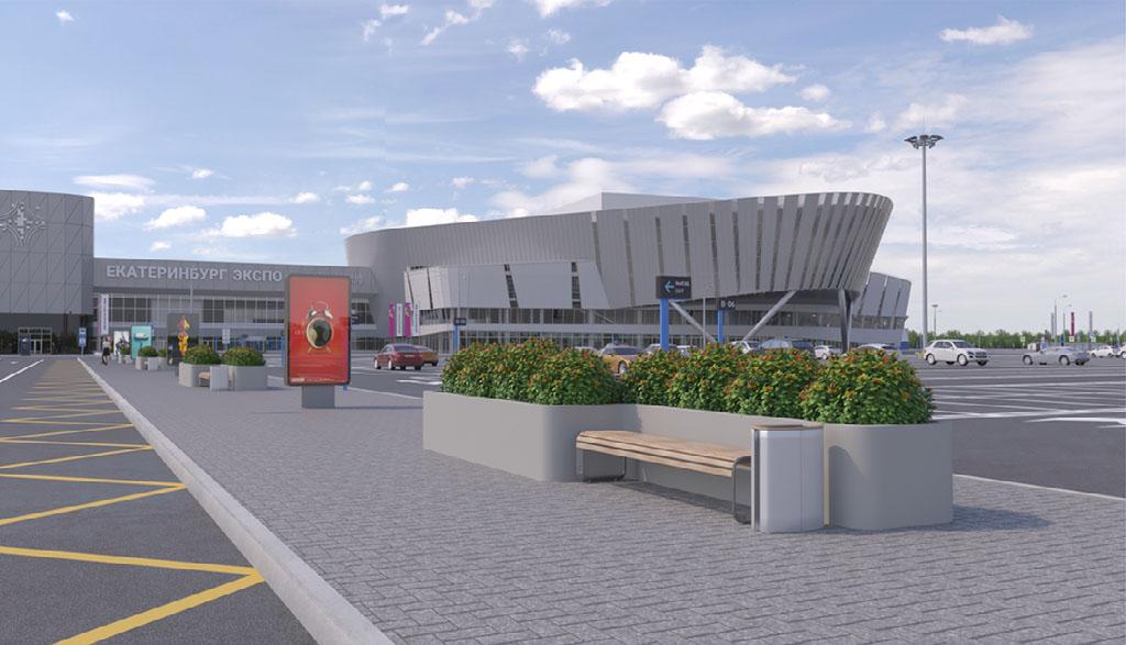 俄罗斯叶卡捷琳堡会展中心IEC Ekaterinburg-Expo