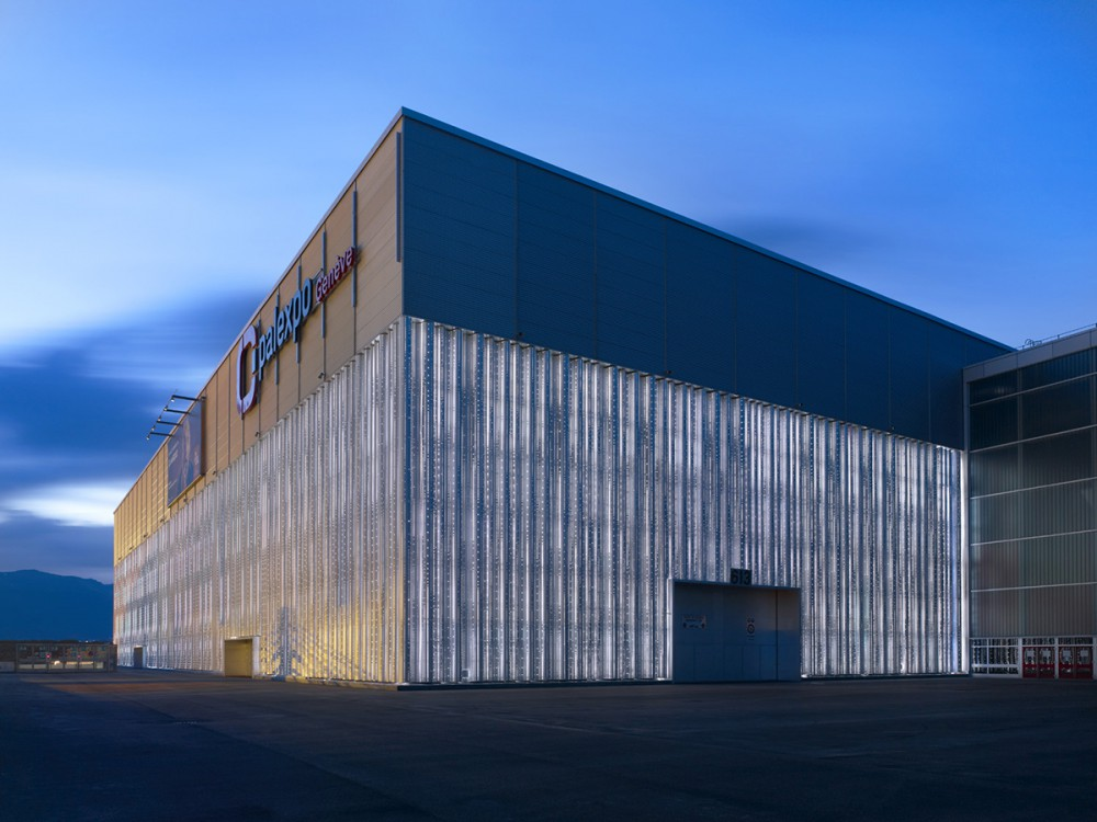 瑞士日内瓦会展中心Palexpo