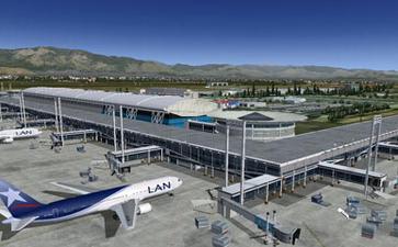 智利奥特罗•梅利诺•比利兹国际机场Arturo Merino Benitez