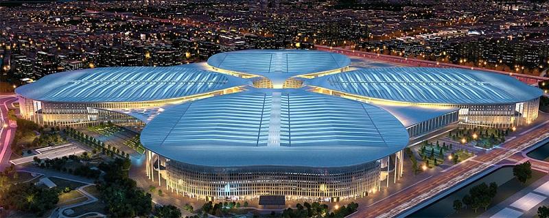 国家会展中心(上海)National Exhibition and Convention Center (shanghai)