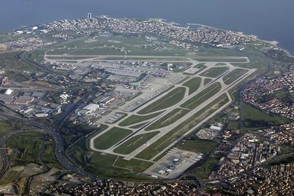 伊斯坦布尔阿塔图尔克国际机场Istanbul Atatürk Airport General Aviation Apron