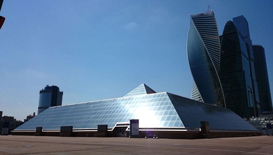 俄罗斯莫斯科红宝石展览中心Expocentre at Krasnaya Presnya