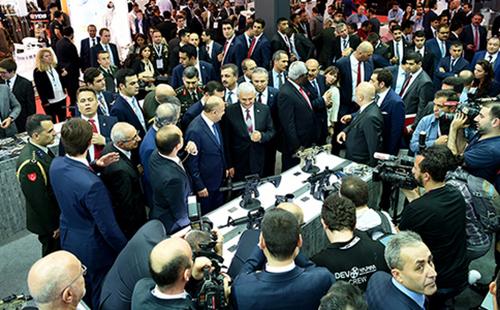 土耳其伊斯坦布尔军警防务展览会DEF