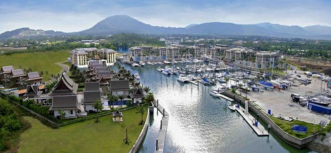 普吉岛游艇皇家码头Royal Phuket Marina