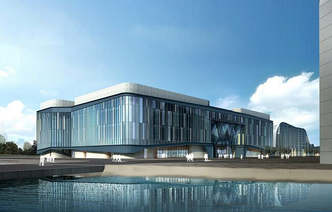 杭州白马湖国际会展中心whitehorse lake international exhibition center