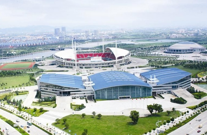 义乌小商品城梅湖会展中心Yiwu Meihu Convention and Exhibition Center