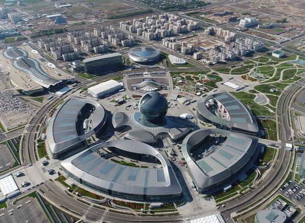 哈萨克斯坦努尔苏丹国际展览中心 IEC expo