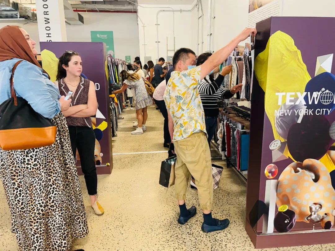 Texworld NYC | Pop-up Sourcing Showroom 现场进行时!