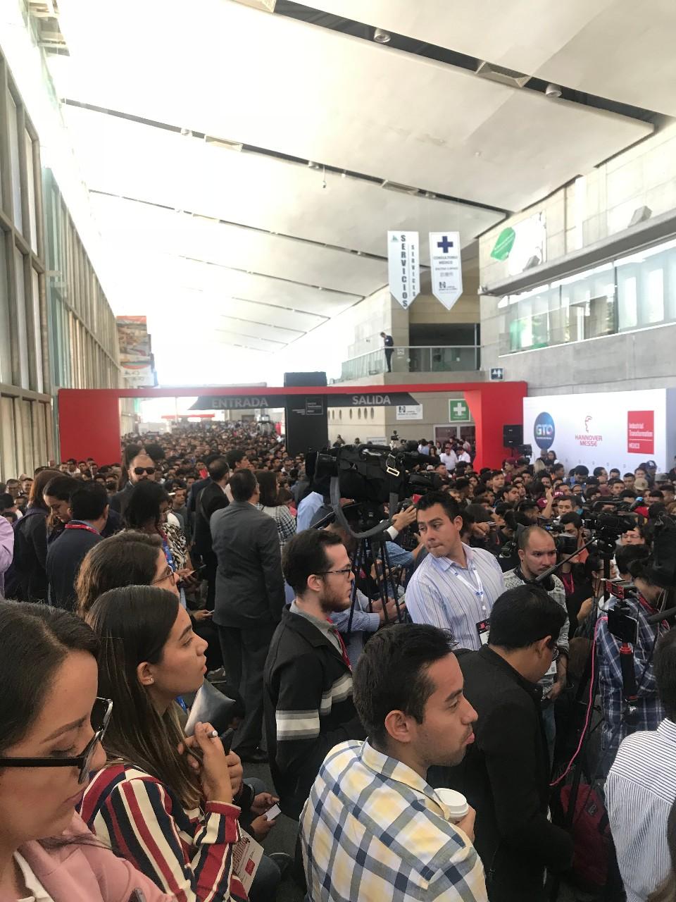 墨西哥工業展盛大展出,效果超出預期