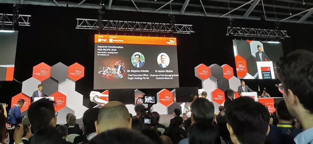 2019年新加坡工业博览会如期举行,现场报道展会盛况